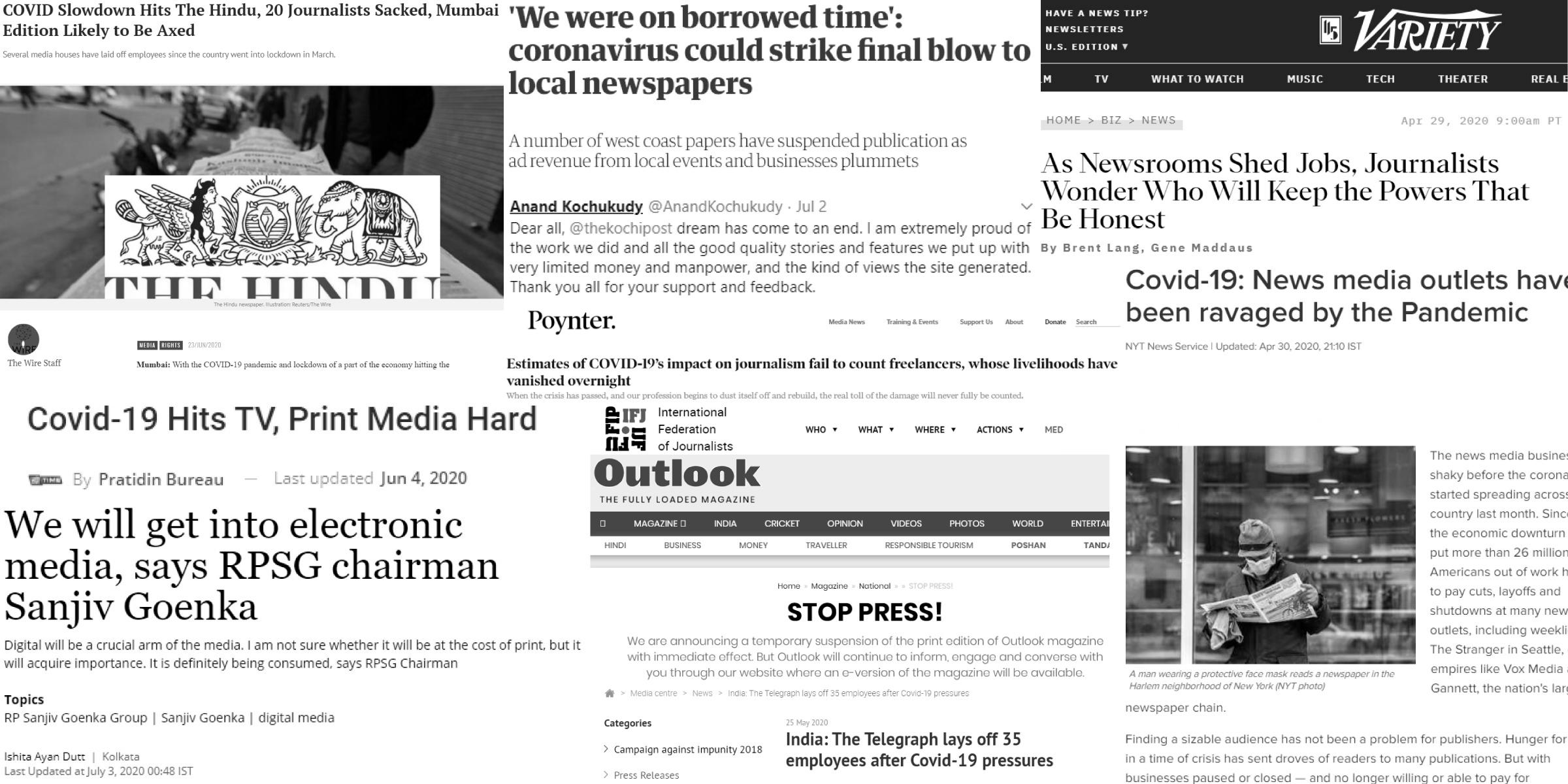 Decline of The Press?