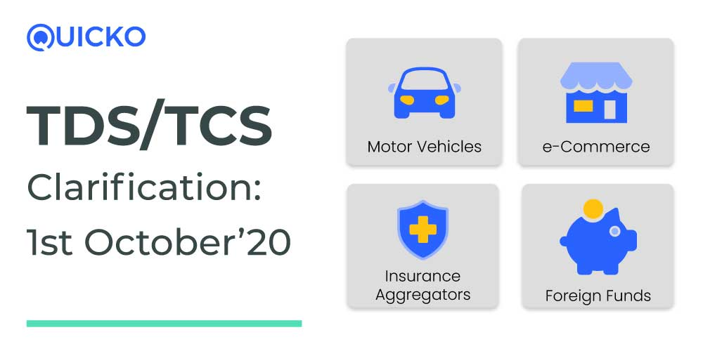 TDS/TCS Clarifications from 1st October