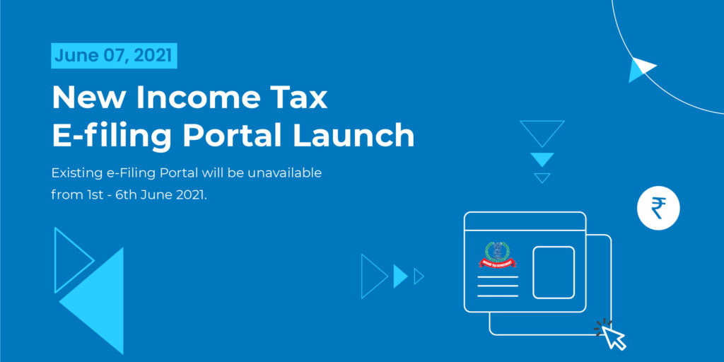 Income Tax E-filing Portal launched www.incometax.gov.in. The Income Tax Portal shifted from incometaxindiaefiling.gov.in