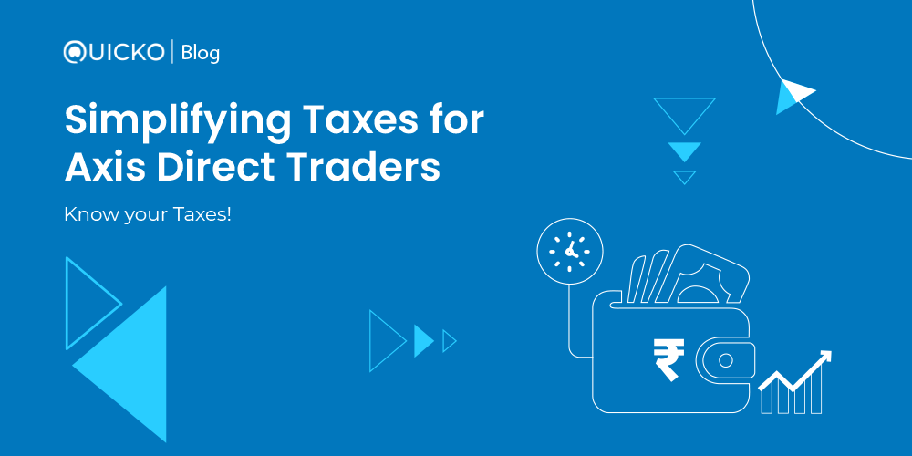 Axis Direct Banner for Tax Planner Blog